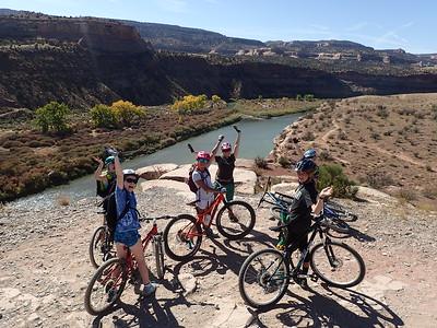 Fifth Grade Outdoor Education fall bike trip 2019
