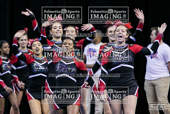 Hartsville High School State Cheer 2018