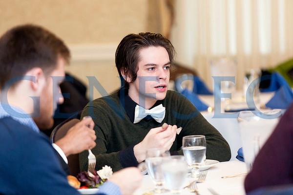 PolySci Freshman Banquet (Photos by Annalee Bainnson)