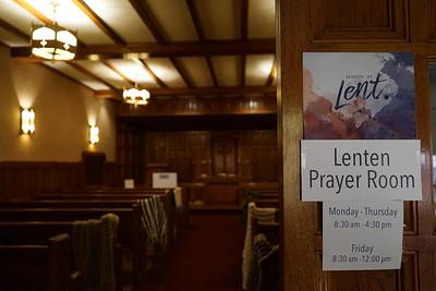 Lenten Prayer Room