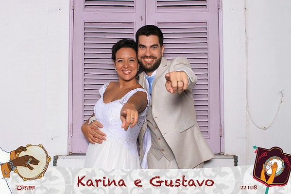 Karina e Gustavo