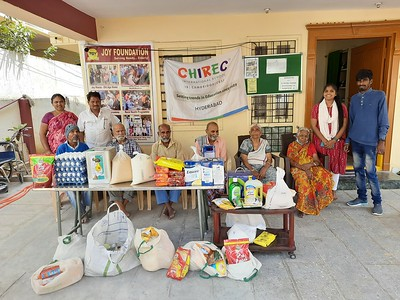Groceries Support to Joy Foundation