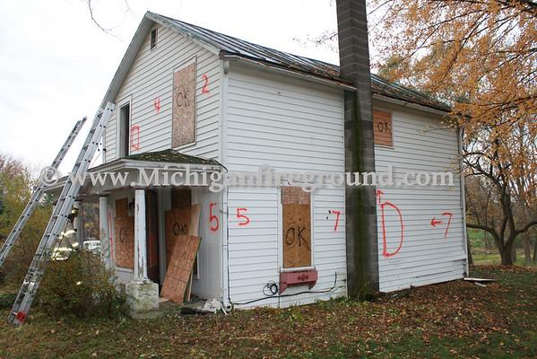 10/29/11 - Mason live burn training exercise, 441 N. Jefferson