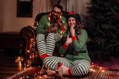 Luke & Vicki - Family Christmas Session