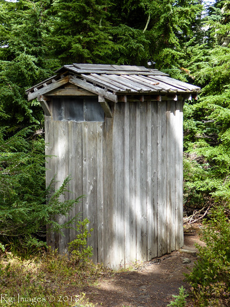 Backcountry crapper at Klapatche Park