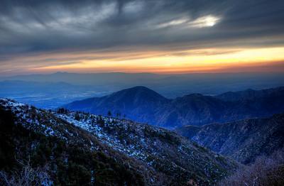 Big Bear- Sunset