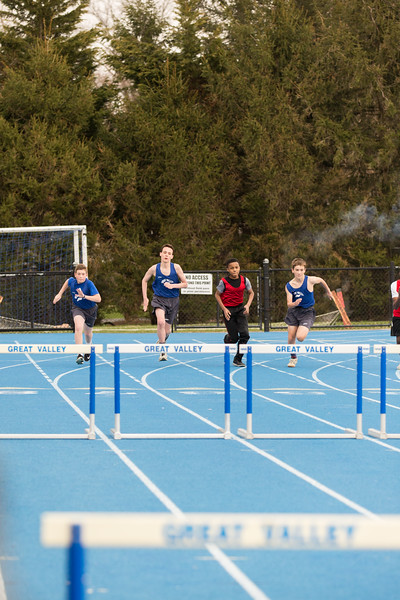 GVMS Track and Field April 12