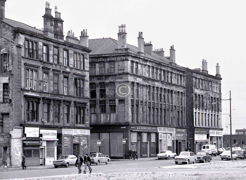 Norfolk St, north side, west of the Cross.    April 1973