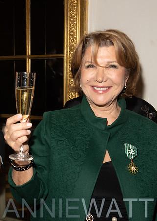 Dec. 13, 2018 Odile de Schiétère-Longchampt receives award