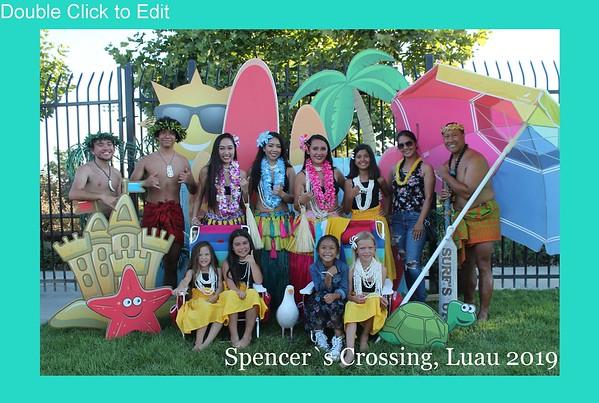 Spencer's Crossing Luau 2019
