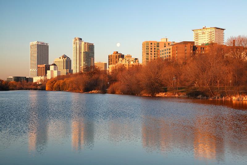 Milwaukee Skyline from Vetrans Park - Milwaukee, WI