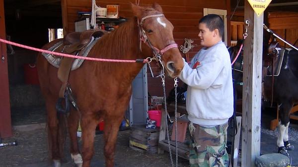 Troop 68 Learns Horsemanship
