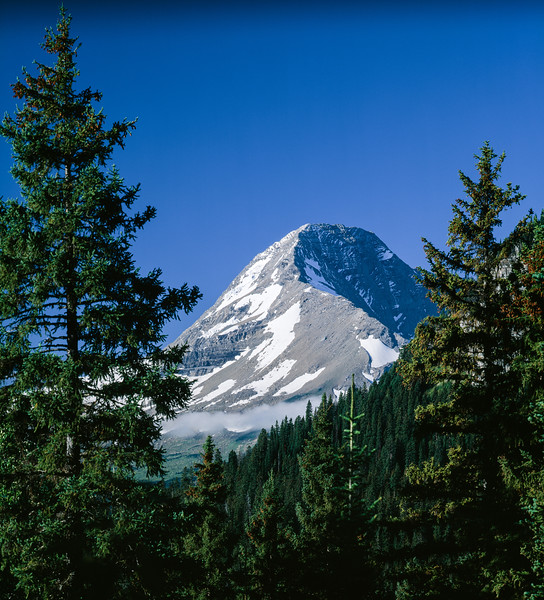 Mount Jackson, Glacier National Park, Montana, 1996