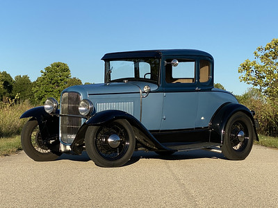 1931 Model A Coupe Hot Rod
