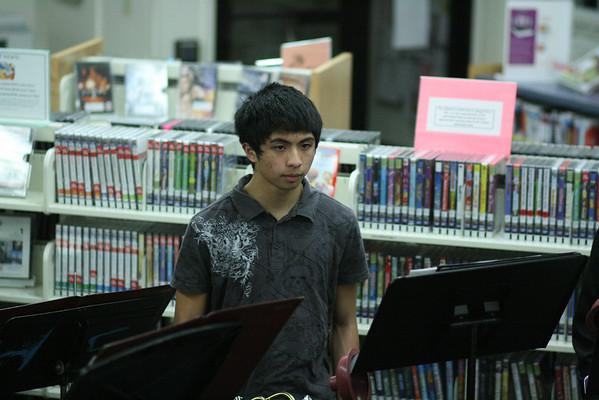 2011 MRHS Jazz Band @ Matawan Library 02-10-2012