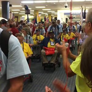 Jim Greens Honor flight 9-20-16