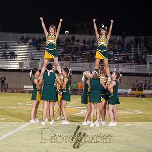 2008 Homecoming Halftime - Band and Cheerleaders