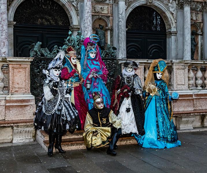 ITALY; Venice; Carnival