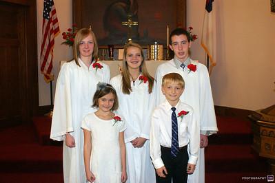 St. John's Lutheran Confirmants 2011