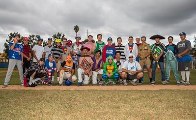 LHHS Halloween Baseball Game 10-31-17
