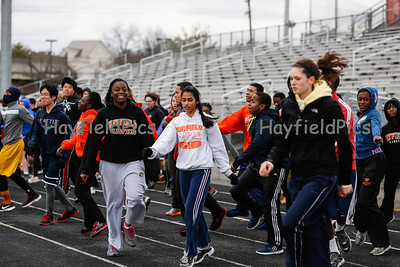 Track & Field Workout 3/1/13