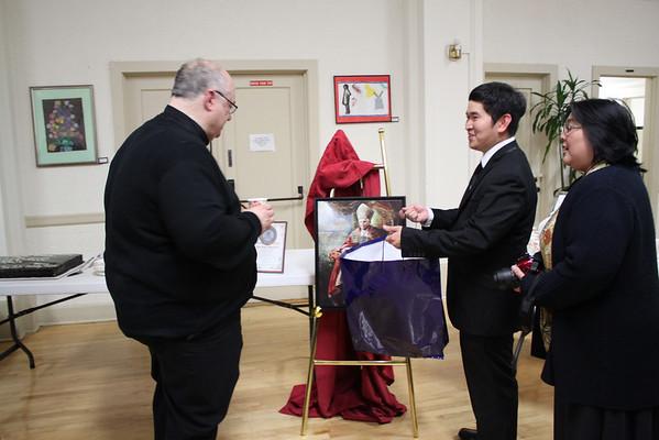 Fr. Mark Mazza's 33rd Ordination Anniversary Reception
