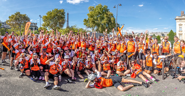 MyelomaUK Pedal to Paris 2018