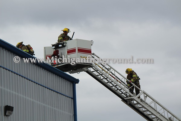 4/24/18 - Mason industrial building fire, 200 E. Kipp