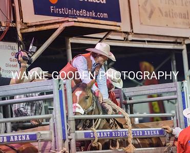 Brady Hill Saddle Bronc