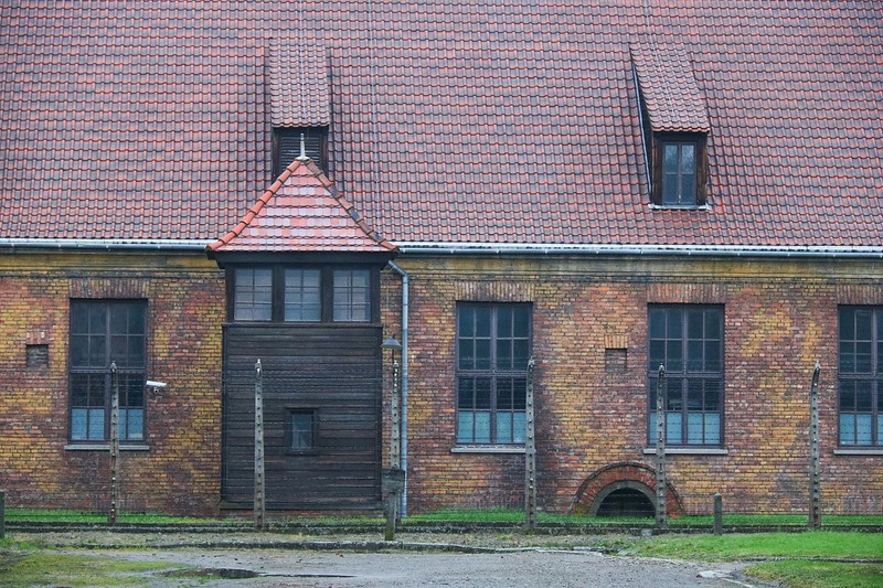 You can take all day to visit Auschwitz and not see the same thing twice. It is big.