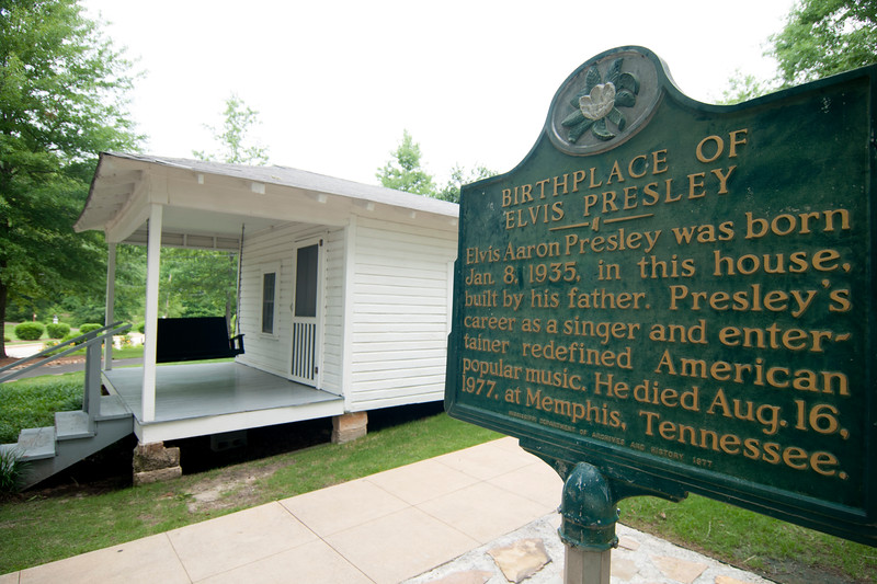 Elvis Presley Birthplace in Tupelo, Mississippi