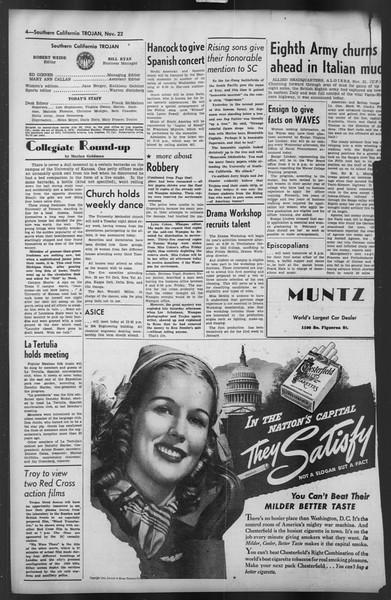 The Trojan, Vol. 35, No. 53, November 22, 1943