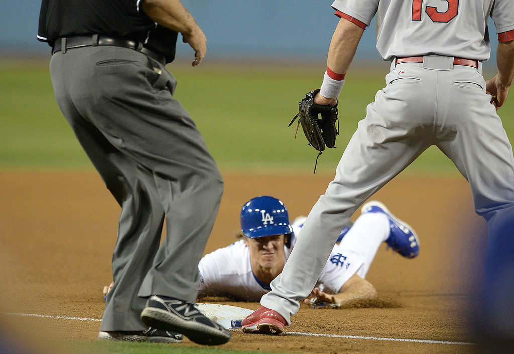 . The Los Angeles Dodgers defeated the Saint Louis Cardinals 3-2 in game 2 of the NLDS at Dodger Stadium in Los Angeles, CA. 10/4//2014(Photo by John McCoy Daily News )