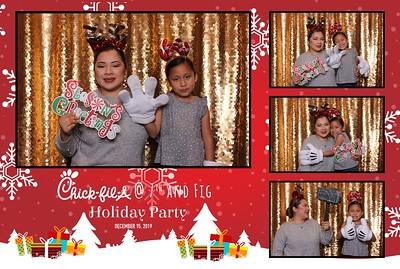 Chick-Fil-A 7th & Fig's Christmas Party