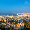 Haifa Night Panorama, Israel