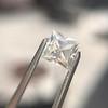 1.38ct French Cut Diamond GIA J VVS1 14