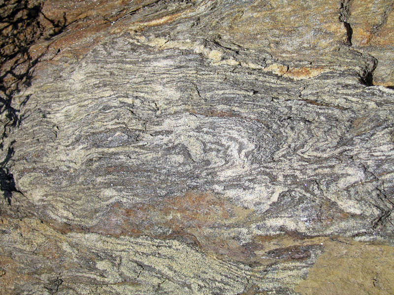fine-grained gneiss