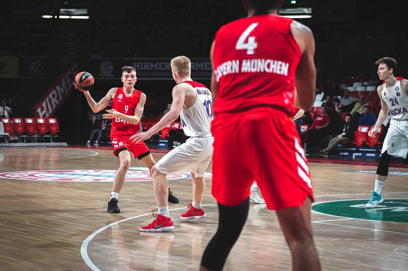 Basketball Euroleague: FC Bayern Muenchen Basketball-CSKA Moskau