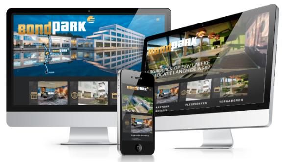 BondPark film & photography including webdesign full responsive