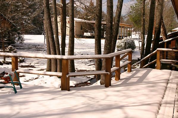 Snow - March 2008