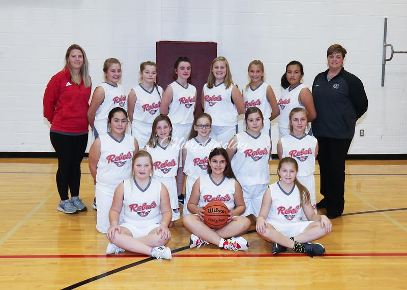 SNMS Girls Basketball 2019-2020
