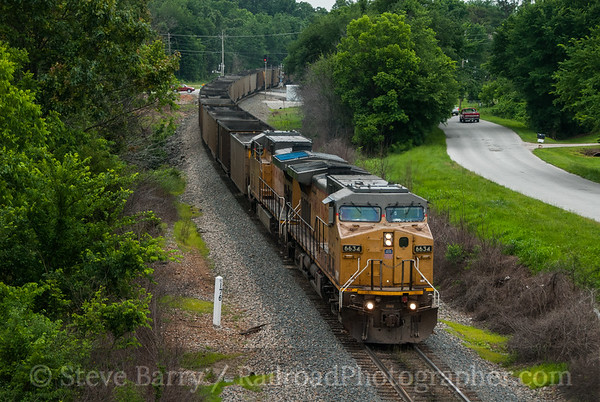 Union Pacific (on KCS) Neosho, Missouri June 15, 2014