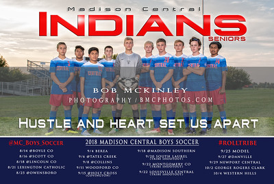 2018 MCHS Boys Soccer