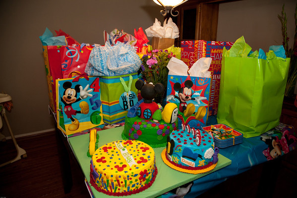 Hudson's First Birthday Party
