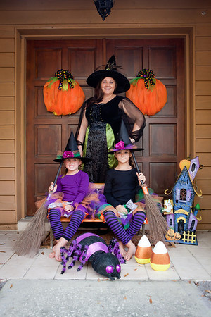 Tricks & Treats | Halloween Fun with Ashely and Her Girls