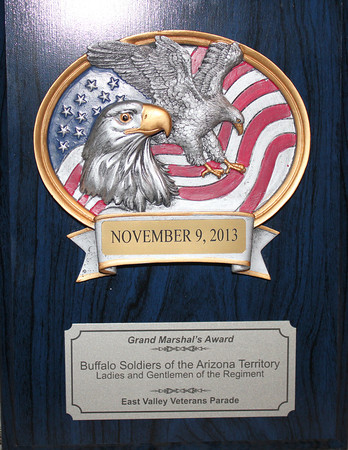 ACCOMPLISHMENTS  and AWARDS. Official Arizona Centennial Legacy Buffalo Soldiers of the Arizona Territory - Ladies and Gentlemen of the Regiment. Founded: Dec. 3, 2007 to present.