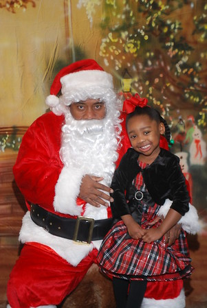 Santa on the westside