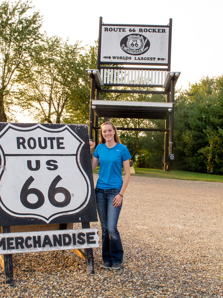 The Funky Monkey Road Trip 2015--Route 66, August 27, 2015