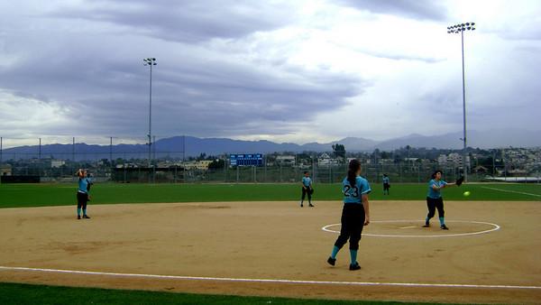 Softball vs. Belmont 3.2.09