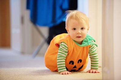 Ben's First Halloween